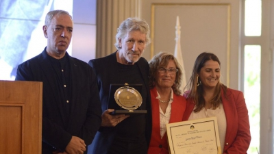 Roger Waters, distinguido